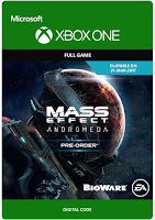 Mass Effect: Andromeda Game Xbox One Cover