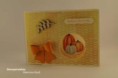 Peek-a-boo-Karte Herbstimpressionen mit Stampin´ Up!