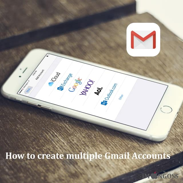 How to create Multiple Gmail Accounts on iPhone