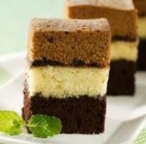 Cara Membuat Cake Lapis Kopi Mocha Kukus