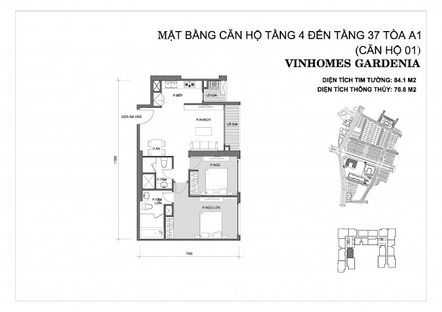 01 - Tòa A1 Vinhomes Gardenia