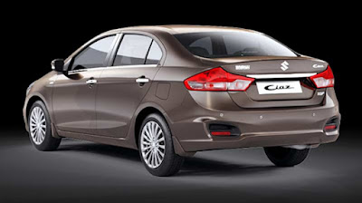 New Maruti Suzuki Ciaz rear view