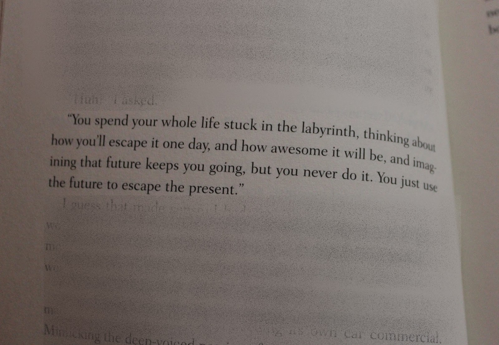 Looking For Alaska Quotes: WALKING TRAVESTY: Looking For Alaska