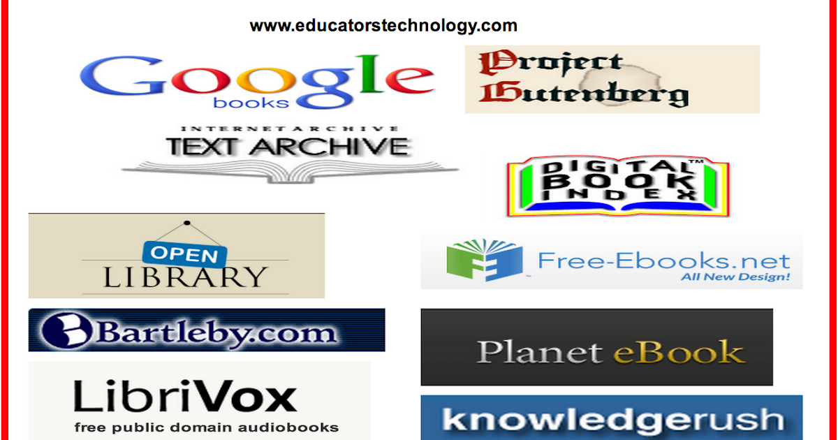 13 great resources for finding free public domain books 13 great resources for finding free public domain books educational technology and mobile learning ccuart Image collections