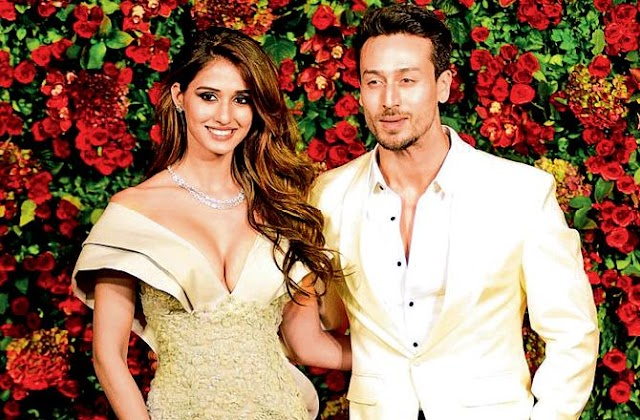 Bollywood : Tiger Shroff and Disha Patani  for a commercial video groove to Badshah's rap