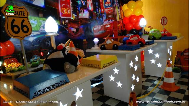 Decoração provençal Carros (Disney) - Aniversário infantil