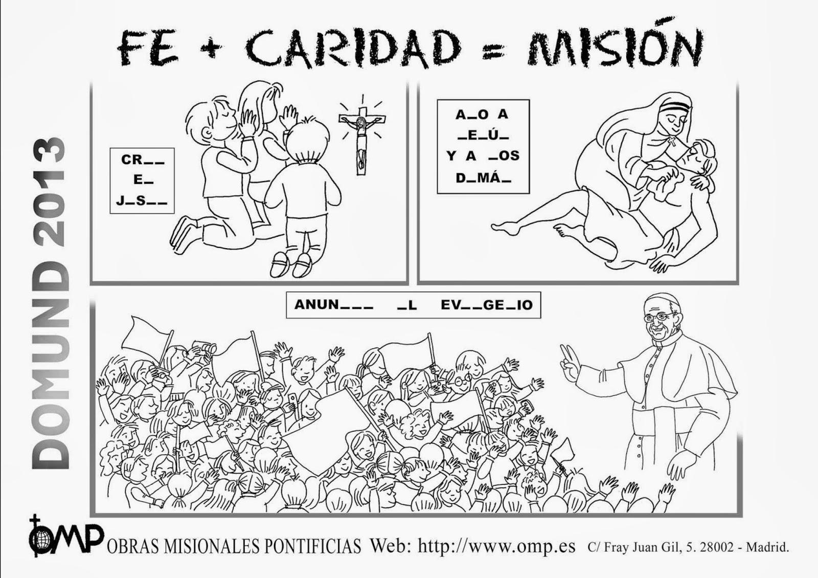 Dibujos De Las Misiones: La Catequesis (El Blog De Sandra): Recursos Catequesis
