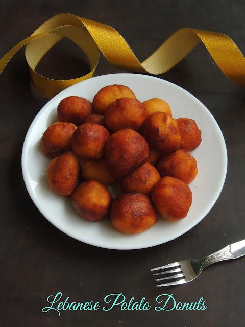 Awamat- Lebanese Potato Donuts, Lebanese Donuts