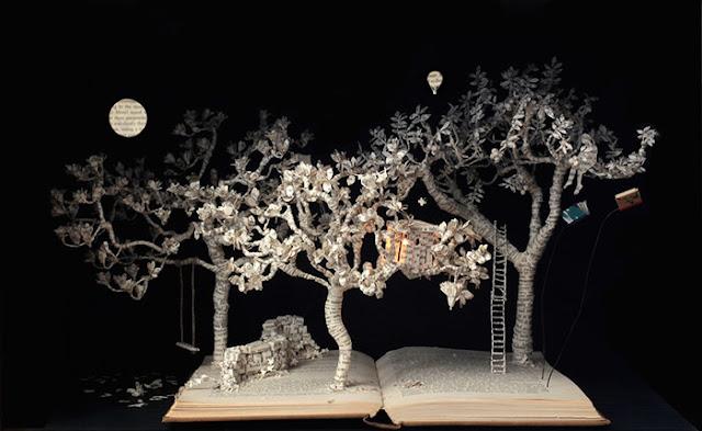 立体的で幻想的な本。本の世界が飛び出す!?10枚 木登り男爵