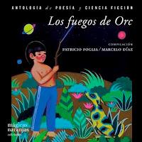 poesía infantil argentina - portada libro Los fuegos de Orc