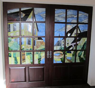 Витраж в дверь Волгоград