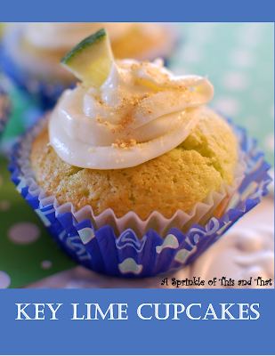 Key Lime Cupcakes- The Style Sisters