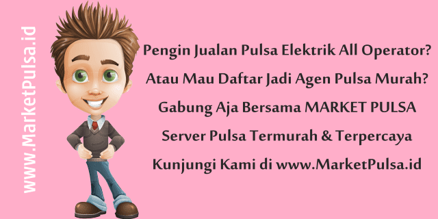 MarketPulsa.id Web Resmi Market Pulsa CV Market Cipta Payment