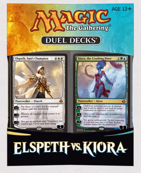 MAGIC - ELSPETH VS KIORA (DUEL DECKS)