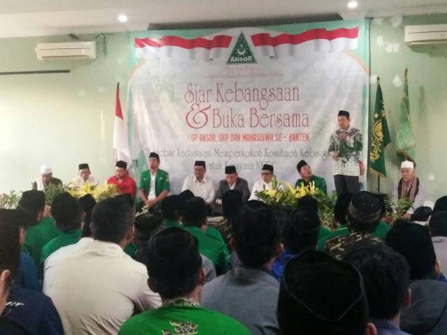 GP Ansor Banten : Menebar Kedamaian, Memperkokoh Komitmen Kebangsaan