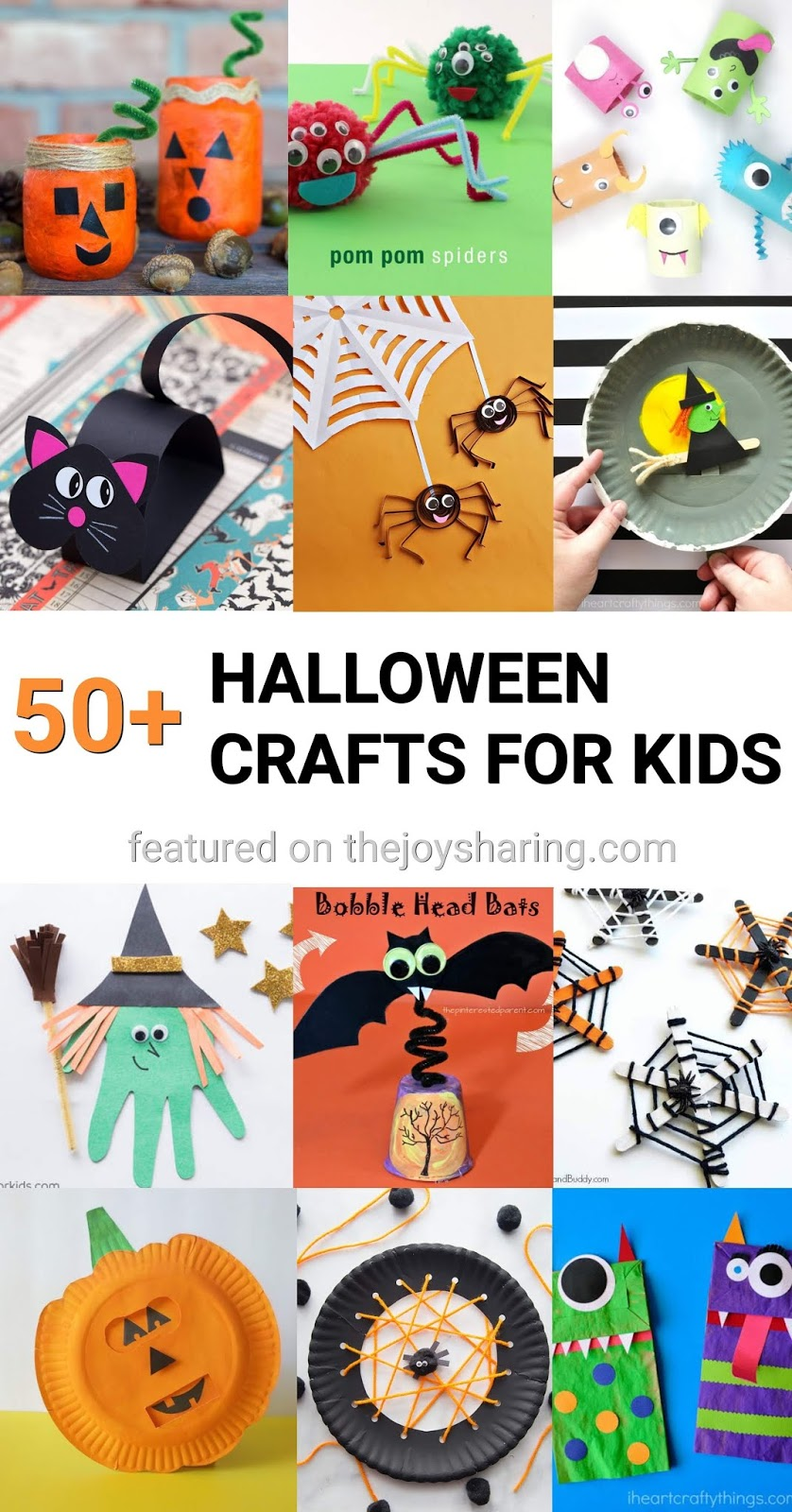 Halloween crafts, Arts and Crafts for Halloween, Halloween crafts for preschoolers, halloween crafts for kindergarten, halloween crafts for toddlers, halloween crafts for tweens, simple and easy halloween craft ideas, halloween crafts tutorial, halloween crafts pinterest, halloween crafts 2018