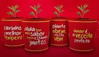 Promoção Coca-Cola e Fortaleza: Jarrinho com sementes de tempero