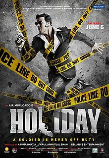Holiday is Akshay Kumar 3rd Highest Grossing film of his career, Co-Actress Sonakshi Sinha