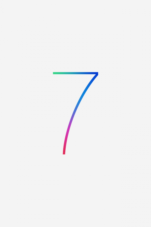 iOS 7 wallpaper for iPhone 4S