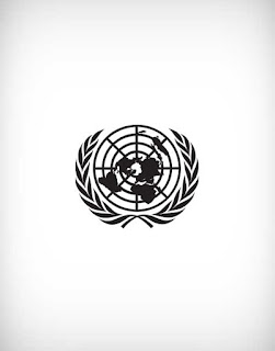 united nations vector logo, united nations logo, united nations,