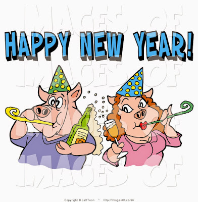 Happy New Year Cartoon Images 2017 Free