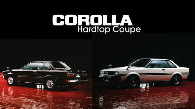 Jenis-Jenis Toyota Corolla hardtop