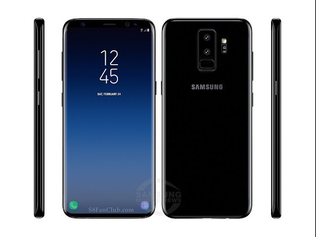 Leaked Specs & 5 Photos of Samsung Galaxy S9 Plus