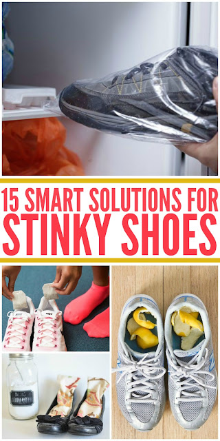 15 BRILLIANT STINKY SHOE SOLUTIONS SO YOU CAN BREATHE EASIER