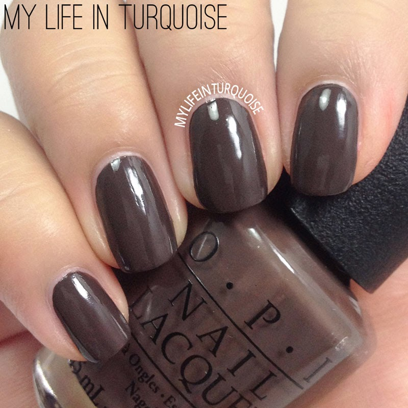 My Life in Turquoise: Nail Polish Review - OPI Nordic ...