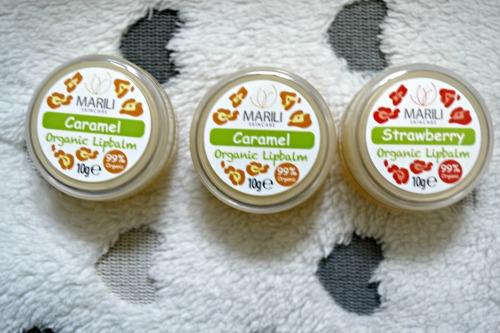 Marili organic lip balms