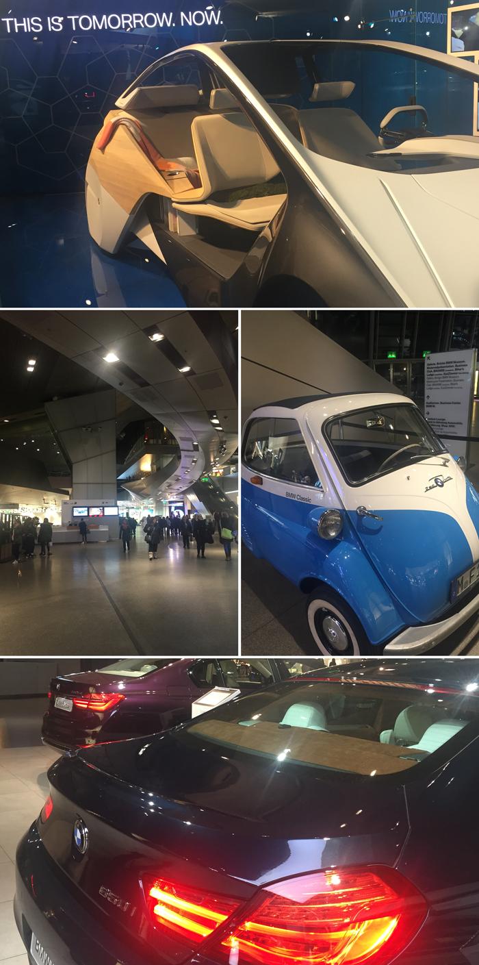 Guía de viaje diario Munich, Bavaria, Alemania, BMW Welt, museo de coches, diseño