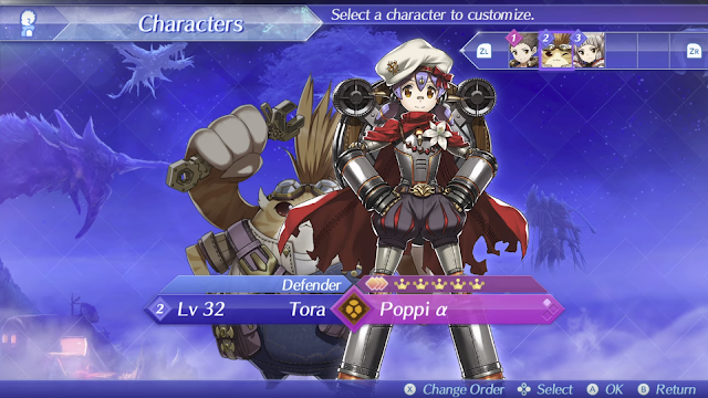 Xenoblade Chronicles 2 Direct Poppi Tora customize characters RawkHawk2010