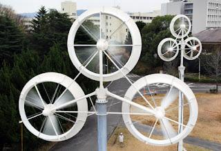 マルチローター風車 輪