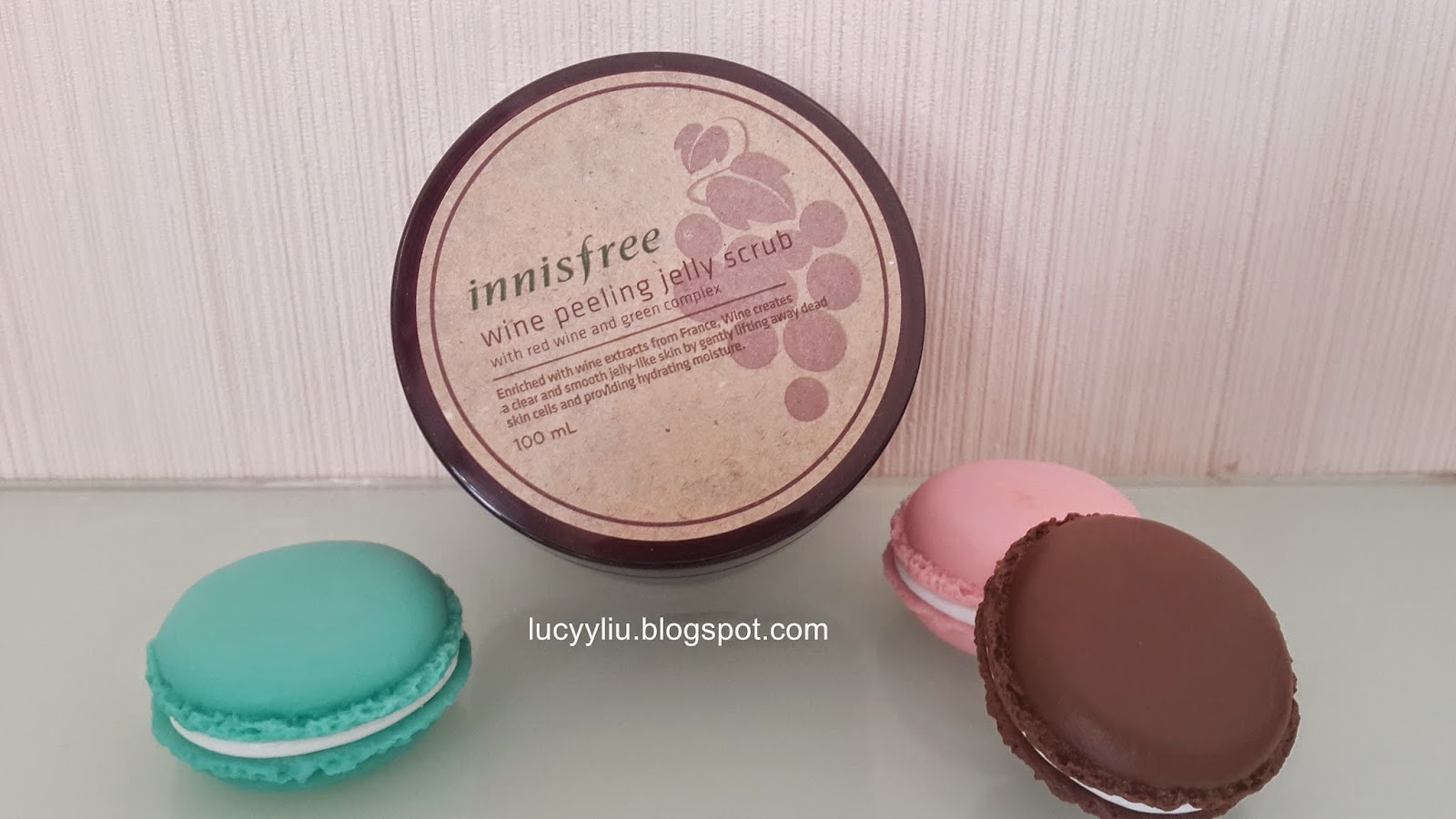 Innisfree Wine Peeling Jelly Scrub review