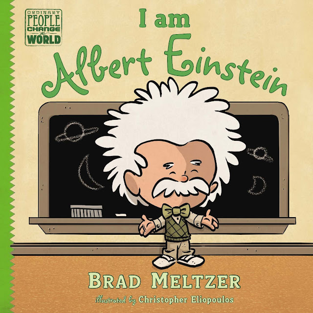I am Albert Einstein by Brad Meltzer.