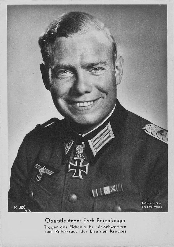 Erich Bärenfänger Ritterkreuzträger Knight Cross Holder Postcard