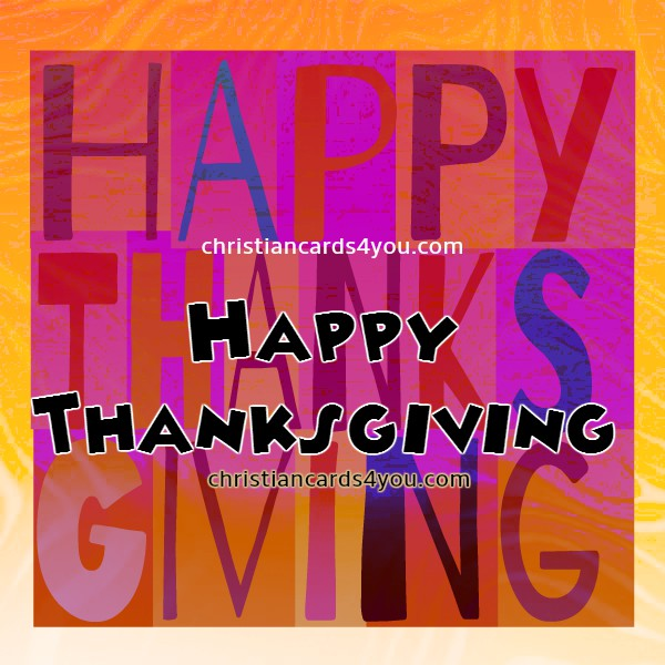 christian card thanksgiving image