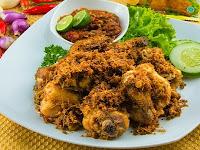Resep Membuat Ayam Goreng Serundeng Khas Tasikmalaya