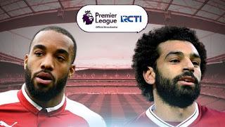 Susunan Pemain Arsenal vs Liverpool - 23 Desember 2017