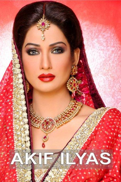 71dffeb2c4 Jia Ali did a Bridal wear shoot for Akif Ilyas Beauty Salon and Photography  Studio. Check out…