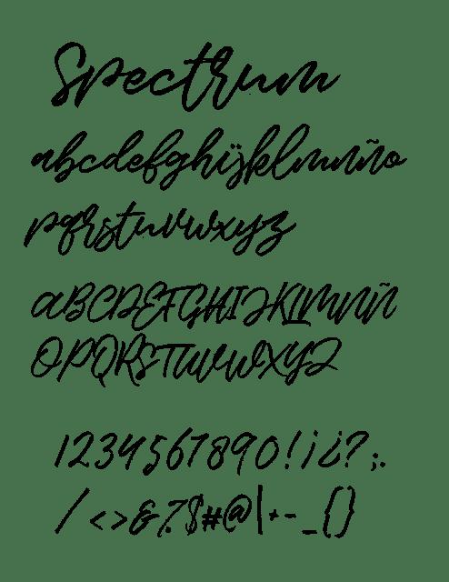 spectrum, font, fuente, tipografia, descargar