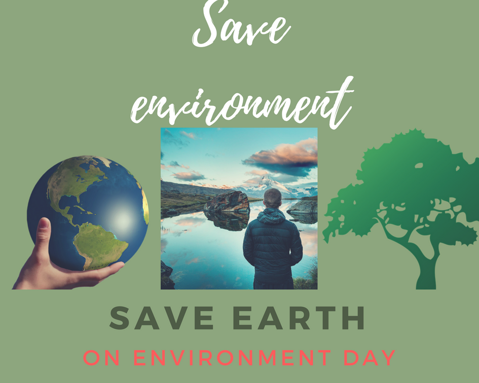 pledge to save the world environment from plastic save earth