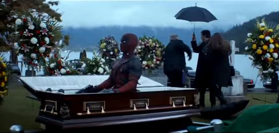 Deadpool 2 tiene un primer tráiler donde pinta como Bob Ross