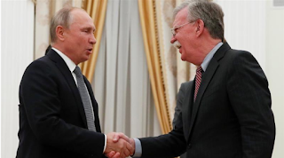 Putin meets Bolton in the midst of atomic settlement leave strains
