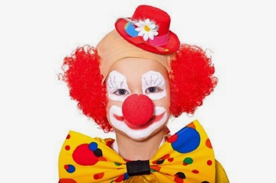 Der postillon kind von clowns wird in der schule wegen for Clown schminken bilder