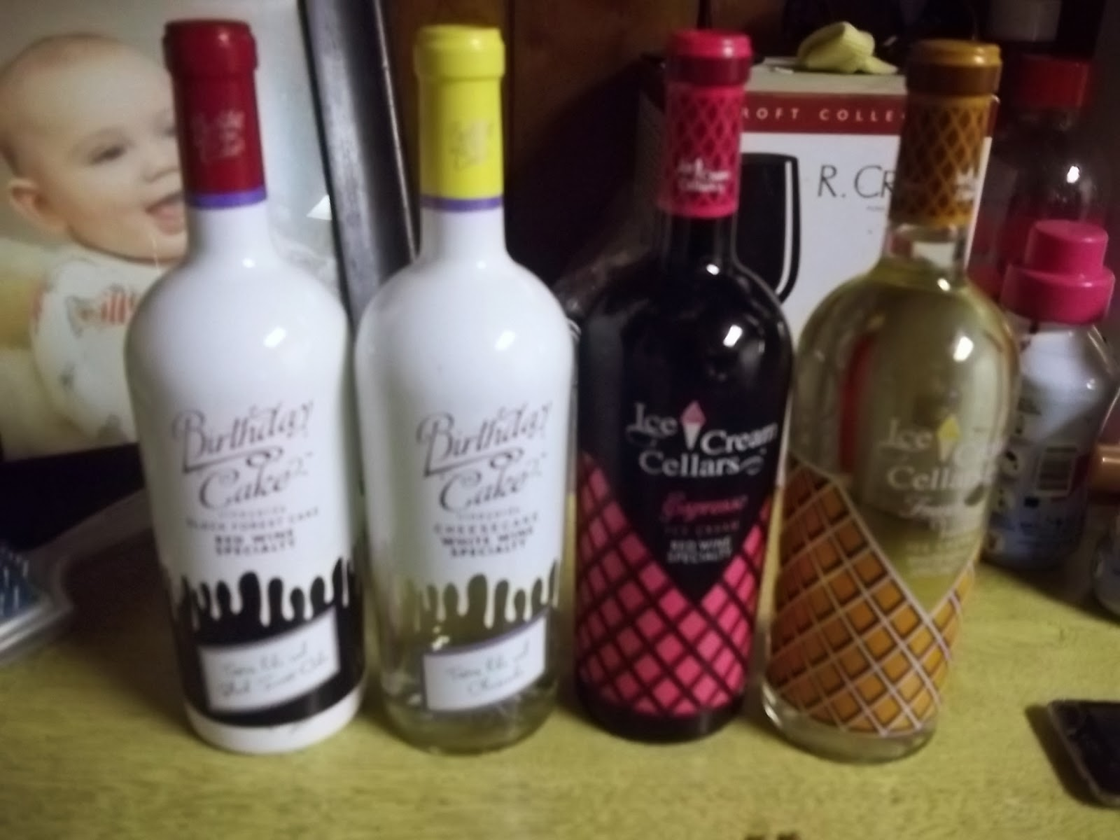 Ice Cream Cellars And Birthday Cake Vineyard Wines Review