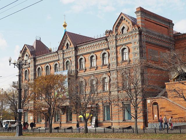 Хабаровск, улица Муравьева-Амурского (Khabarovsk, Muravyov-Amursky street)