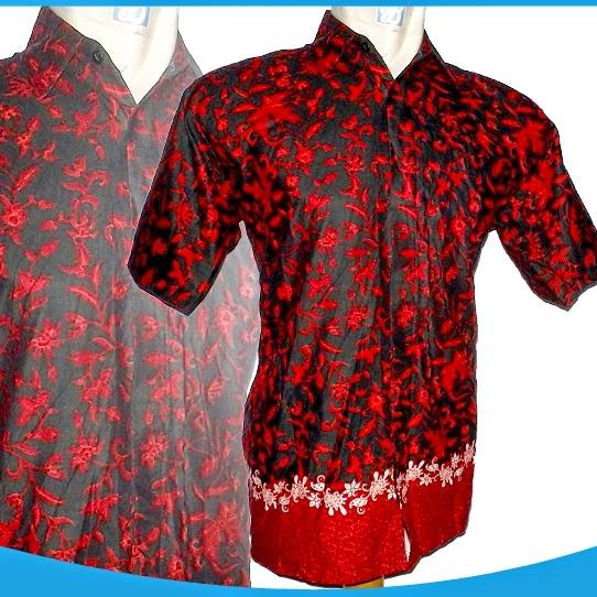 Batik Keris Warna Merah: Batik Modis Dan Trendy Murah