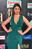 Laxmi Rai in a Deep neck Beautiful Green Gown Cute Actress Laxmi Rai ~  037.JPG