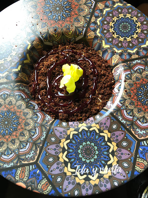 Comer en Antequera Tasca Frasquita Cremoso de Chocolate